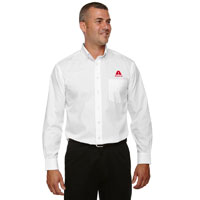 MEN'S SOLID BROADCLOTH SHIRT - TALL