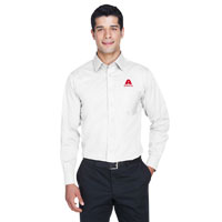MEN'S SOLID STRETCH TWILL SHIRT
